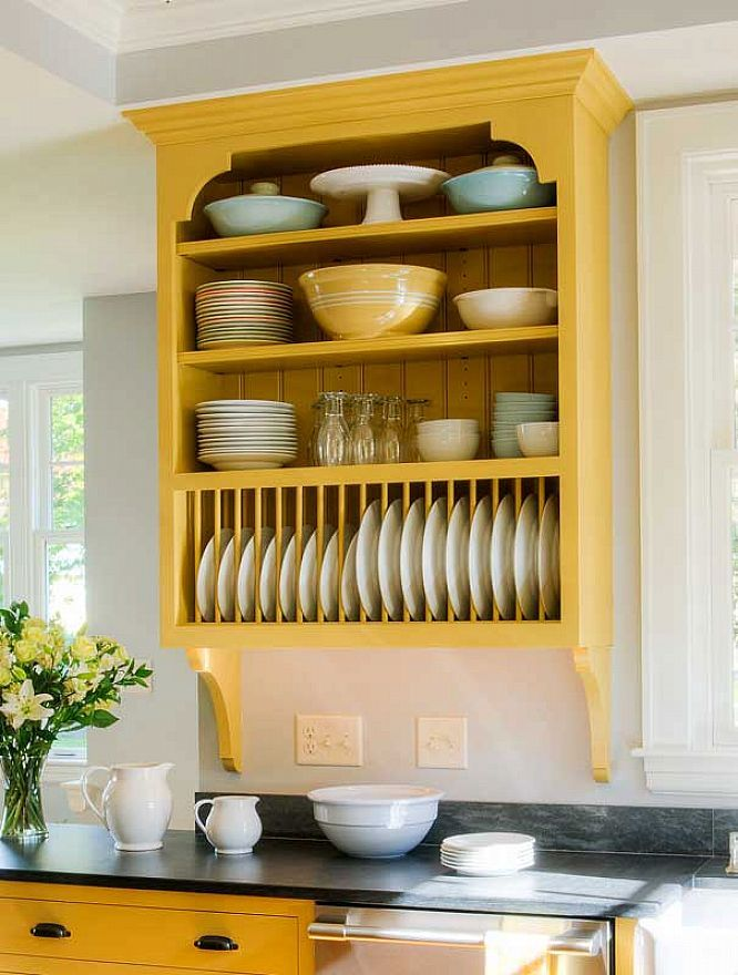 Plate Rack Wood Design