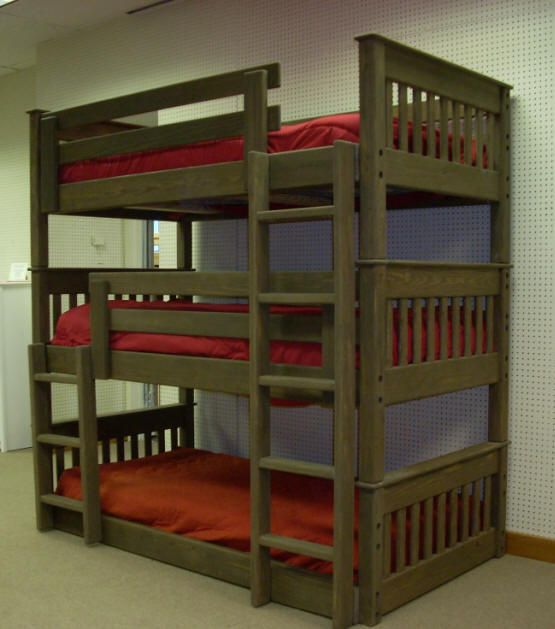 Unique Triple Bunk Bed Kids | Home Design Tips and Guides PB51