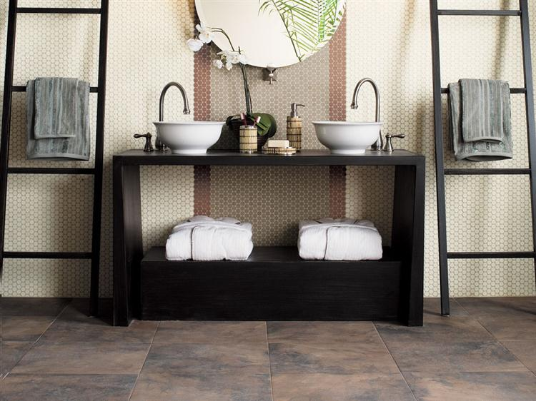 Bathroom Flooring Ideas - Floorcraft Catlin