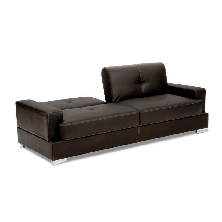 Cheap Futon Sofa Bed Coro Brown