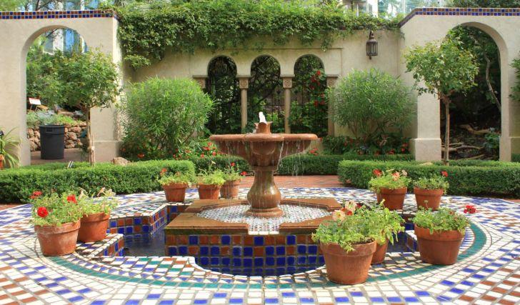 Courtyard Fountains Design