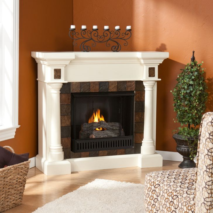 Gel Fireplace Designs Corner