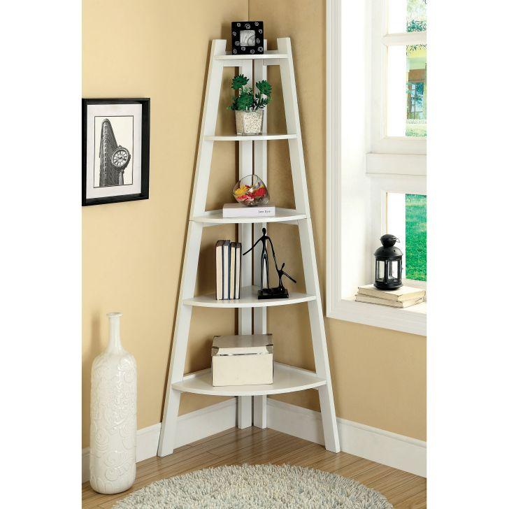 Ladder Bookcases Corner