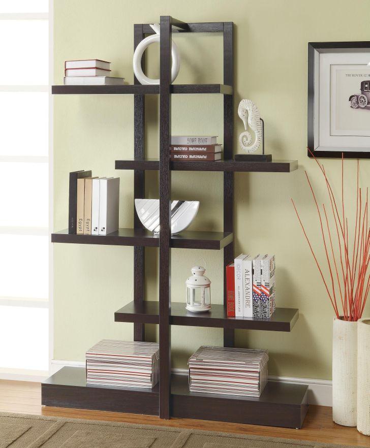 Ladder Bookcases Modern Open Design
