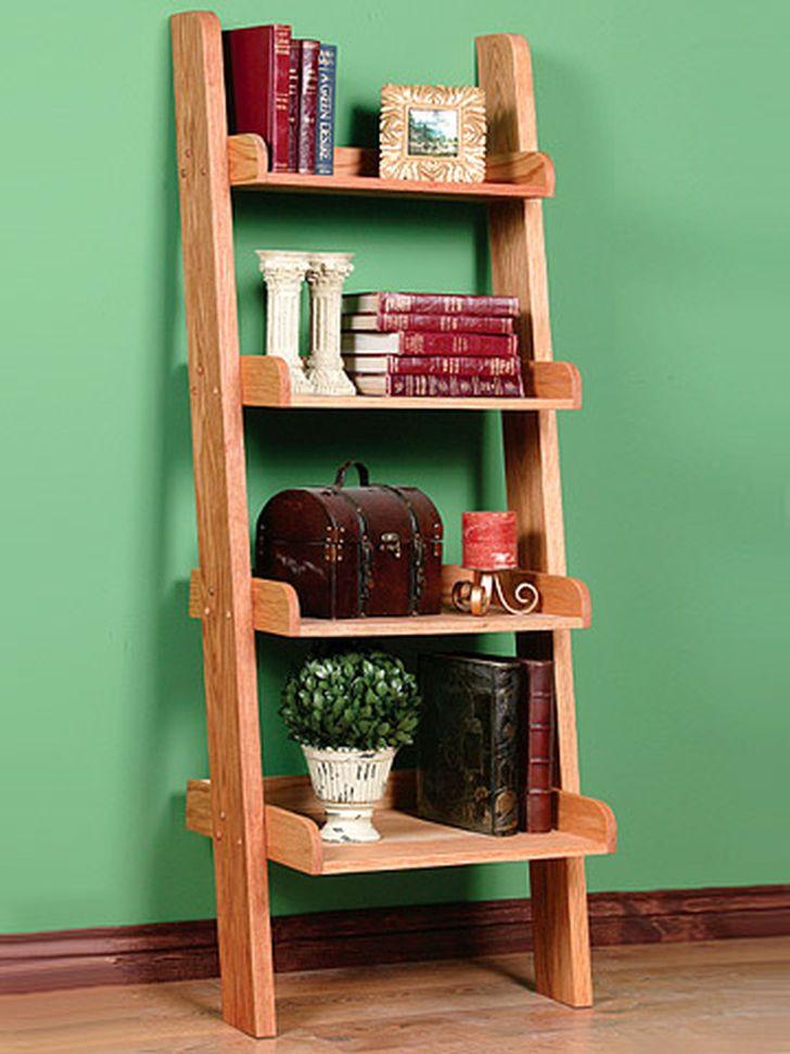Ladder Bookcases Simple Design