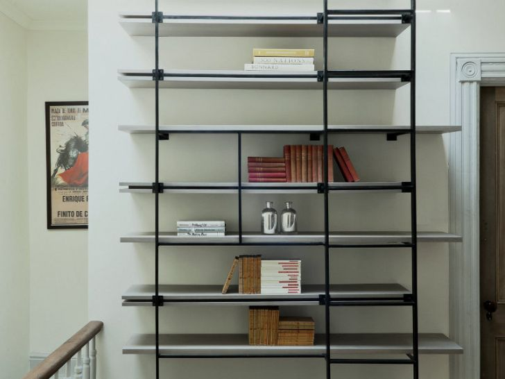 Ladder Bookcases for Small Space