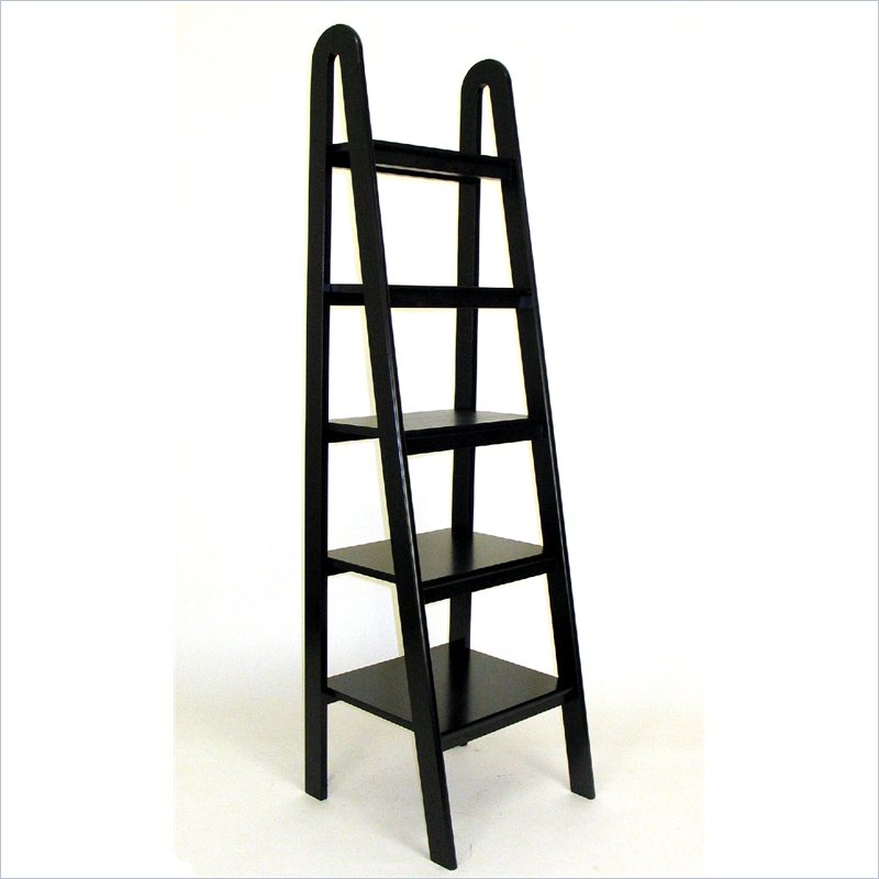 Ladder Bookcases Cherry