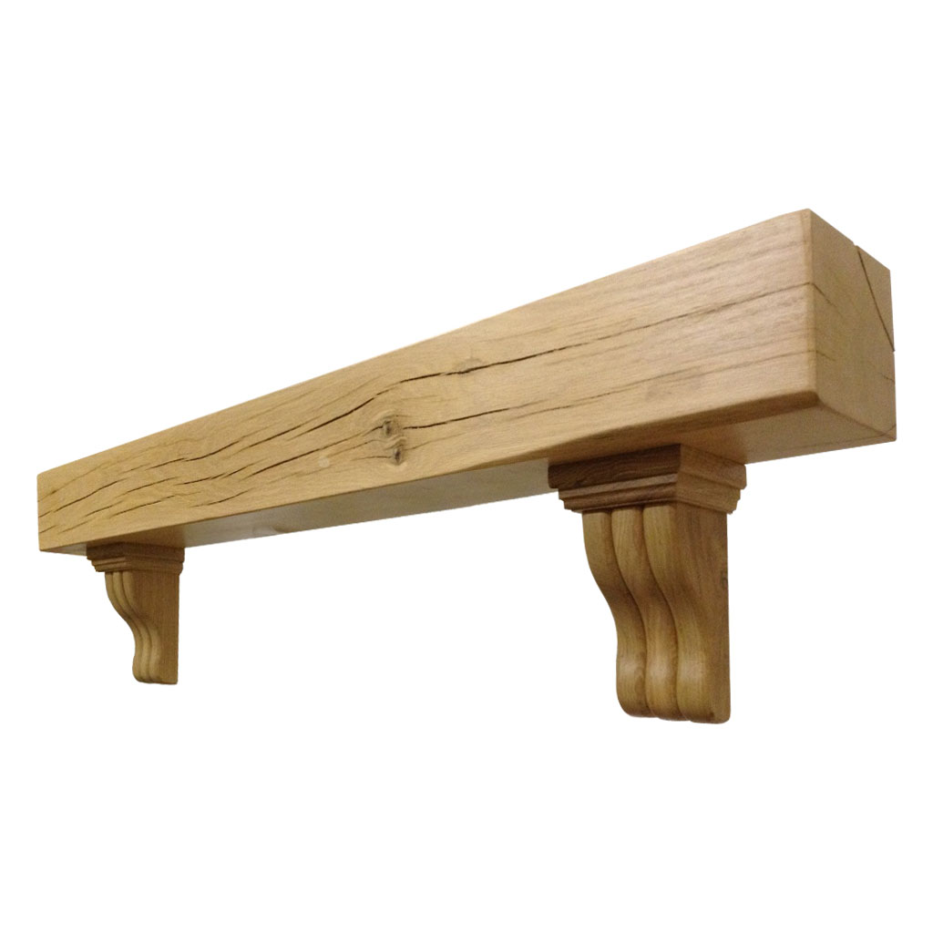 Mantel Shelf Design Timber Solid French Oak