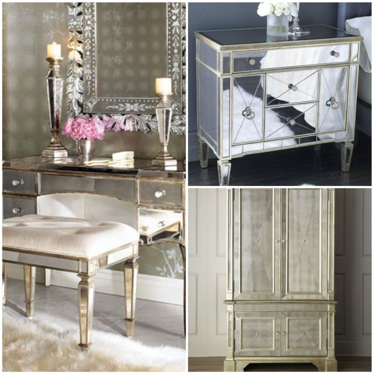 Mirrored Furniture Design Collection