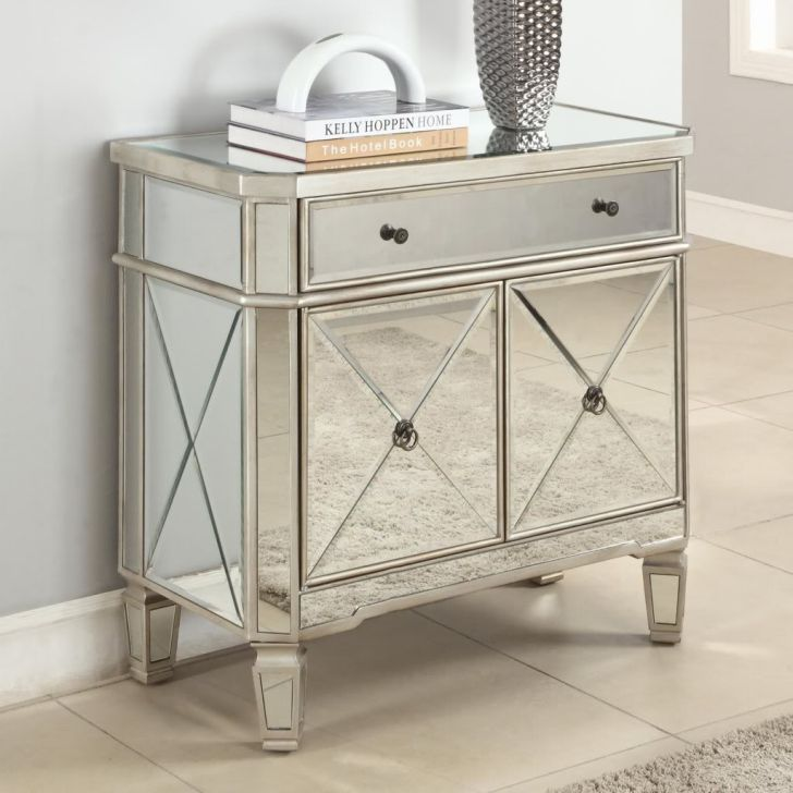 Mirrored Furniture Design Dresser Buffet Cabinet