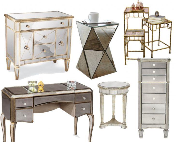 Mirrored Furniture Design with Minimalist Design