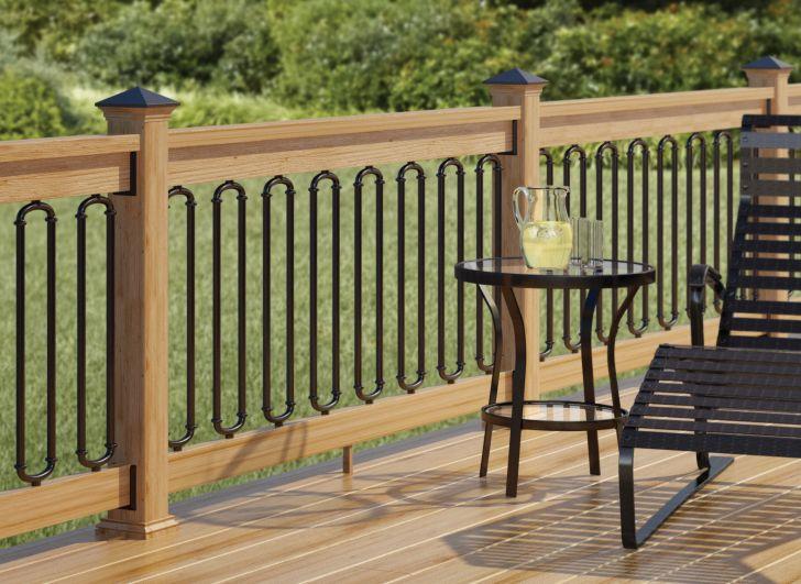Outdoor Deck Ideas Iron