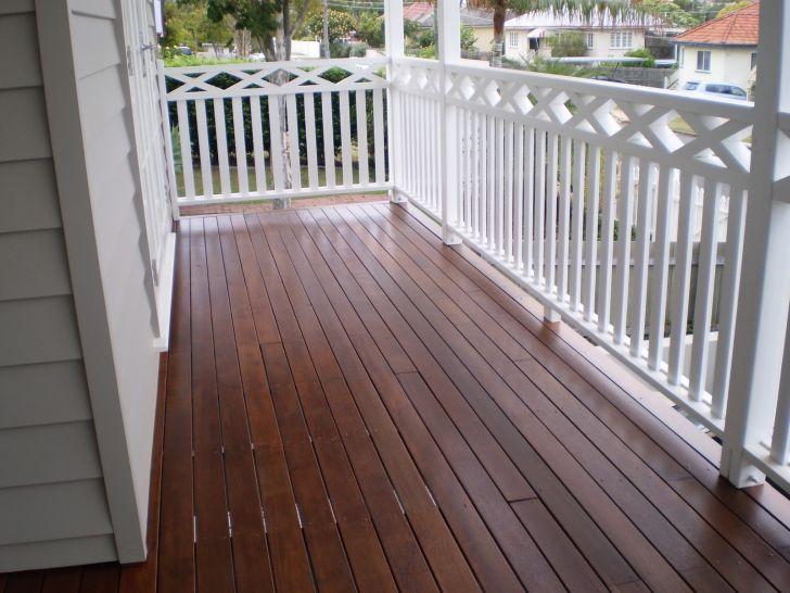 Outdoor Deck Ideas White
