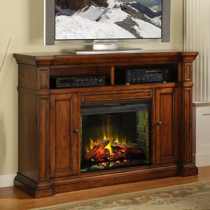 TV Stand Fireplace the Brick