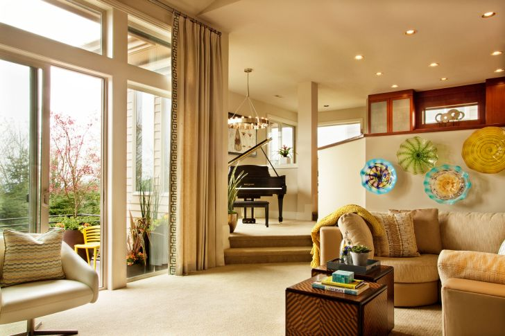 Window Treatments For Tall Windows and Doors
