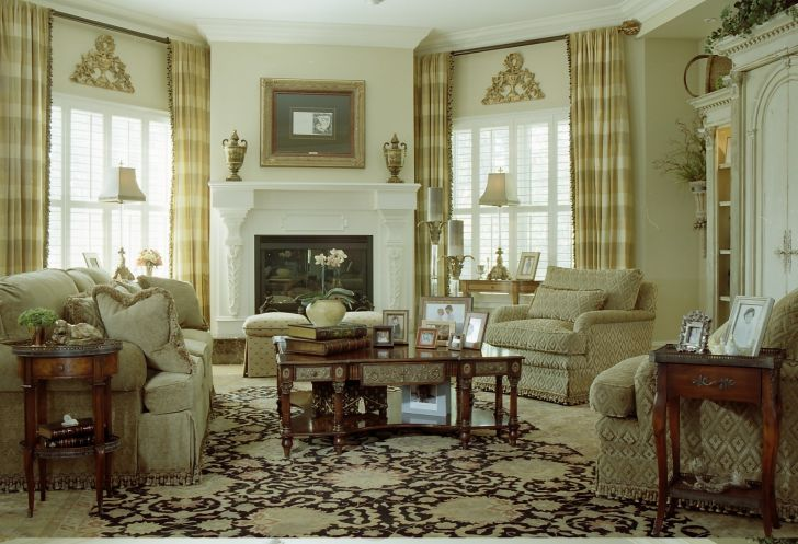 Window Treatments For Tall Windows in Family Room