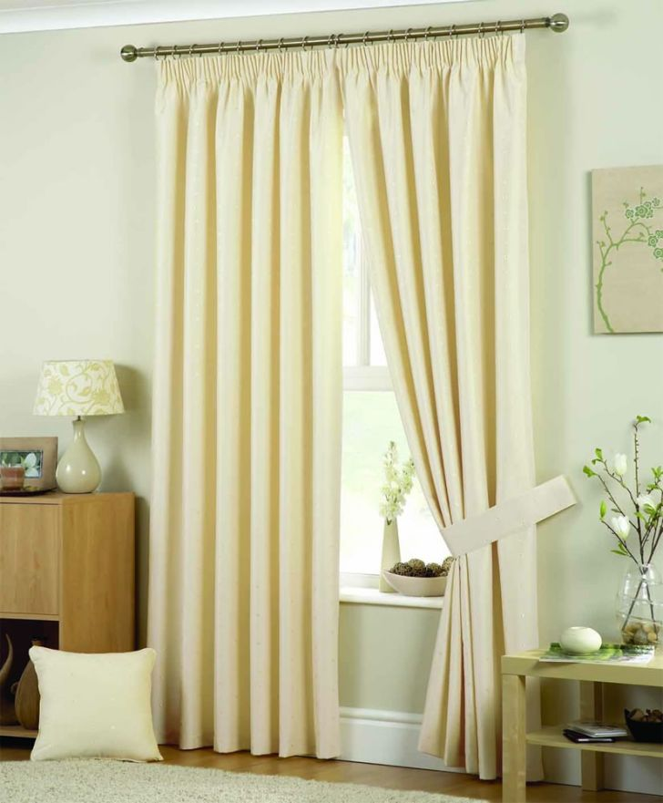 Window Treatments For Tall Windows with Molding