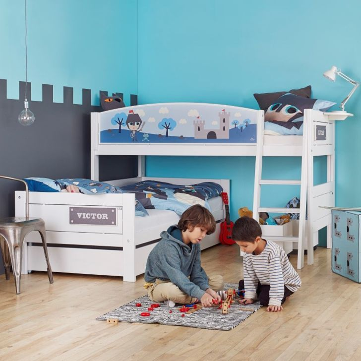 Knight Corner Bunkbed Kids