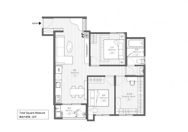 Bedroom Design with 3 Ideas Includes Floor Plans 20