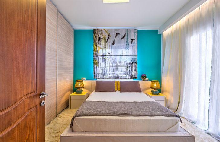 Modern Bedroom Apartment with Seasonal Ideas