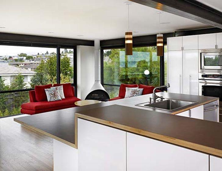 Open Home Floor Plan Kitchen