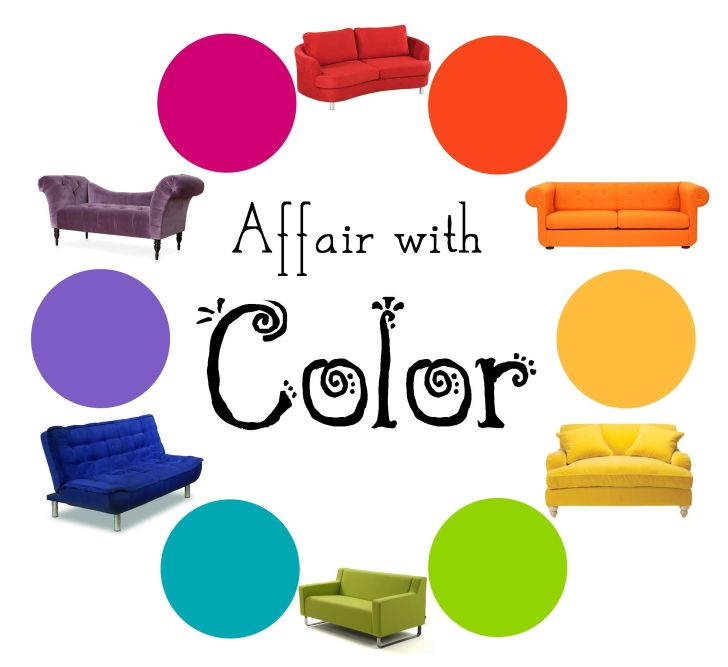 Sofa Color Wheel for Your Living Room