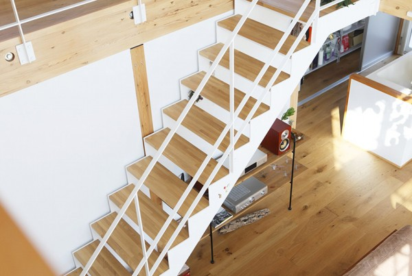 Wood Floored sStairs
