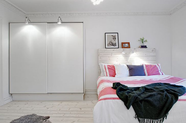 Comfortable scandinavian bedroom apartment 3 home design for Apartment design guide part 3