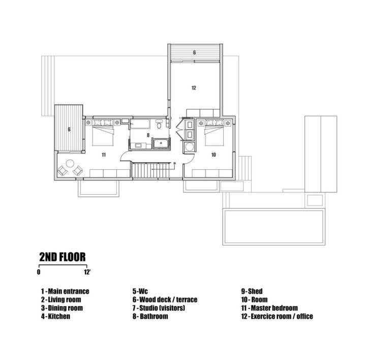 Contemporary L-Shaped Home