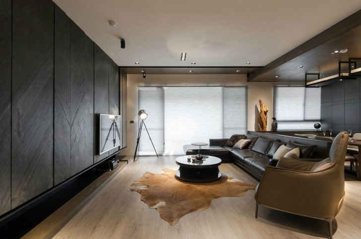 Home with Masculine Style from Thee ID
