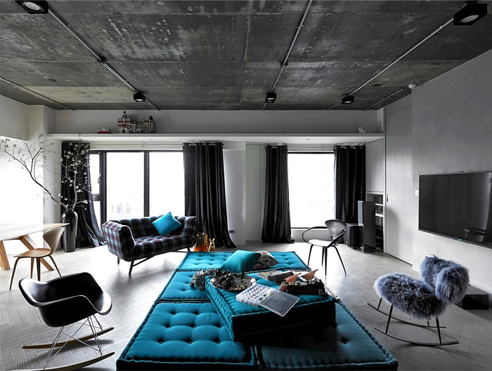 Apartment in Taipei by Studio Ganna Design