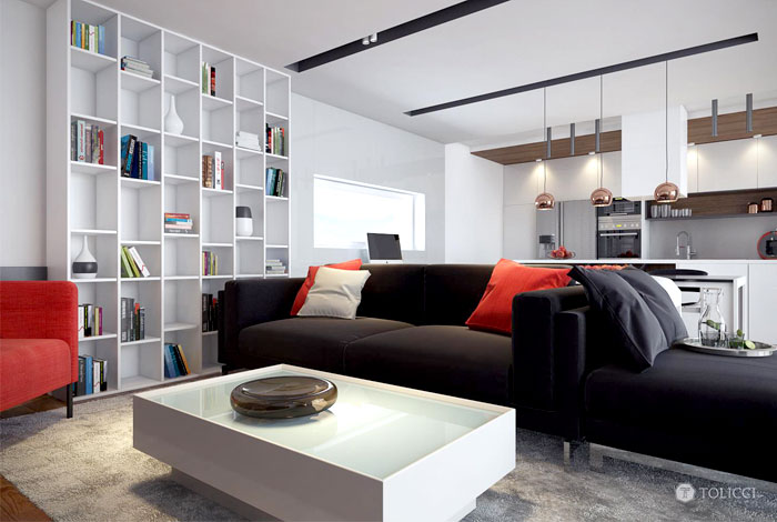 Modern Interior by Tolicci Design Studio